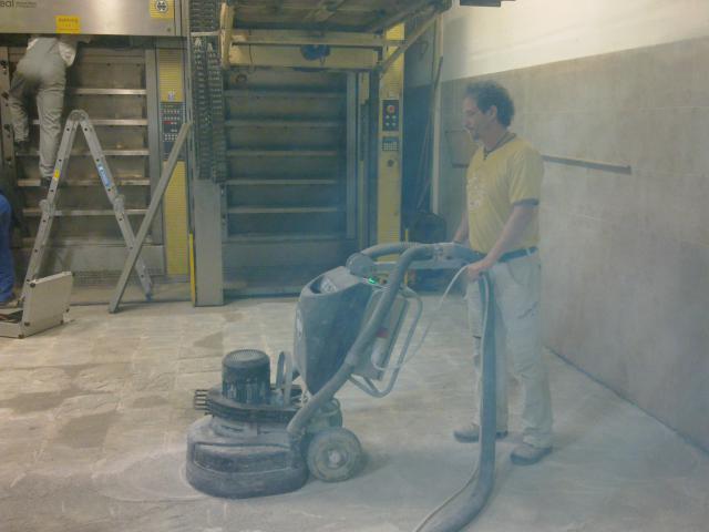 Betoncsiszolás, beton polírozás, Betonmarás