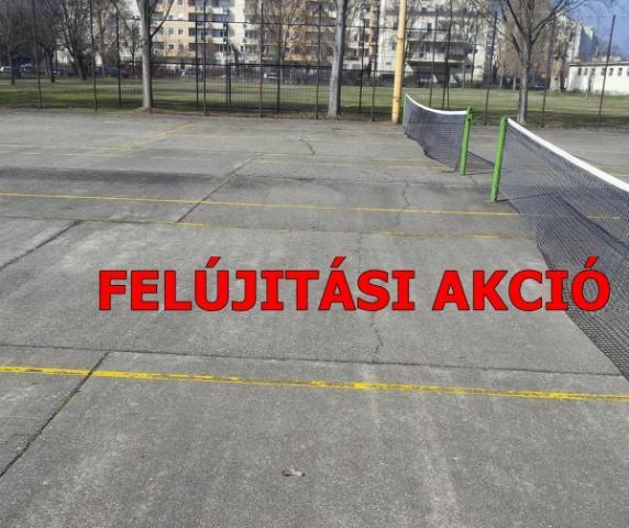 Teniszpálya épités