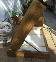 Francia ágy eladó 130X190 cm , Hibátlan állapotú