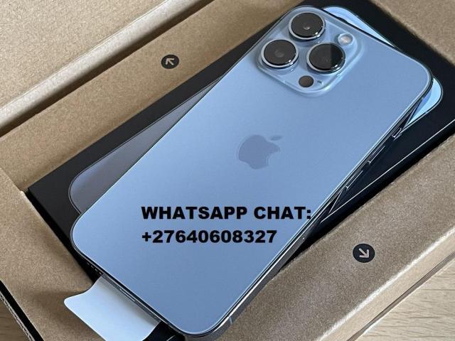 Apple iPhone 13 Pro 128GB = 700 EUR, iPhone 13 Pro Max 128GB = 750 EUR, iPhone 13 128GB = 550 EUR